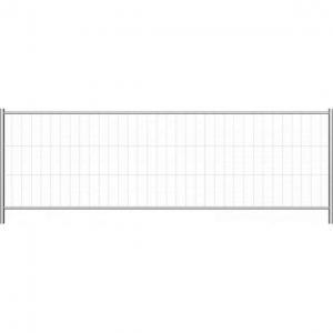 Vorschau: Bauzaun Standrad 1,20m Standard