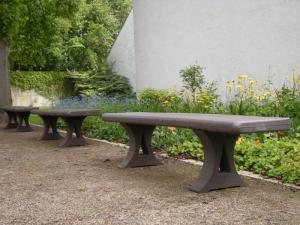 Vorschau: Kunststoff Parkbank Balder