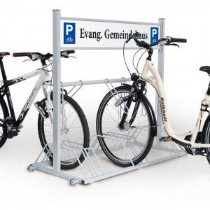 Vorschau: Werbe-Fahrradständer Security Station