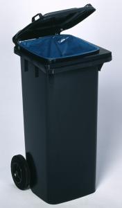 Vorschau: Kunststoff Mülltonne 120l