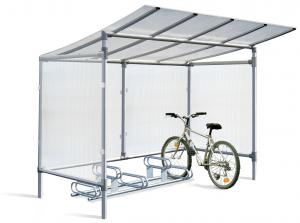 Vorschau: Fahrradüberdachung Alu