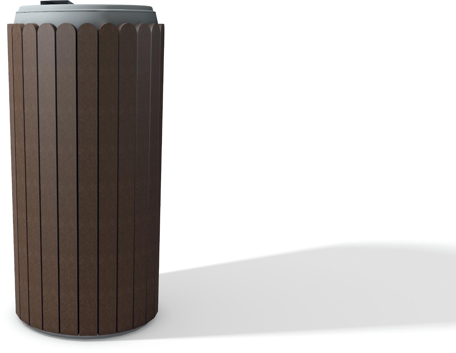 abfallbeh lter parki mit deckel kunststoff abfallbeh lter au enbereich abfallbeh lter. Black Bedroom Furniture Sets. Home Design Ideas