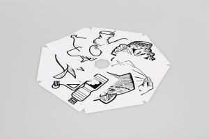 Vorschau: Piktogramm-Aufklebersatz 7-Fach