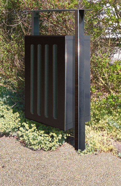 abfallbeh lter silaos 50 liter aus stahl. Black Bedroom Furniture Sets. Home Design Ideas