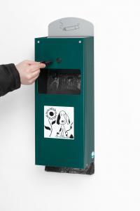 Vorschau: Hundekotbeutelspender DS 4 mit Ascher