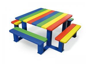 Vorschau: Bank-Tisch Kombination für Kinder
