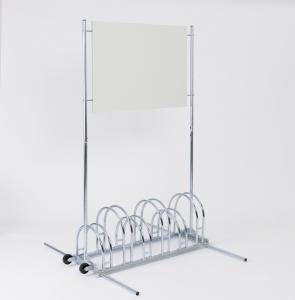 Vorschau: Werbe-Fahrradständer BW 5000