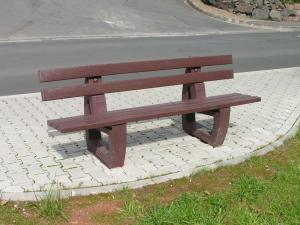 Vorschau: Parkbank Lodur 1,50 Meter mit Rückenlehne