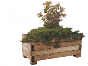 Vorschau: Pflanzkübel aus Kiefernholz