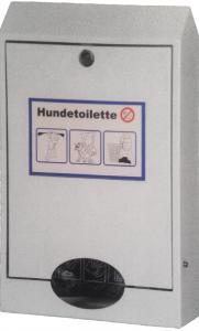 Vorschau: Hundekotbeutel Beutelspender aus Stahlblech