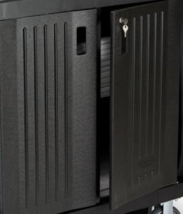 Vorschau: 2 verschließbare Türen