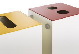 Vorschau: Magnetverbindung für Mülltrennsystem Design