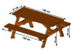 bank tisch kombination emba aus kunststoff. Black Bedroom Furniture Sets. Home Design Ideas