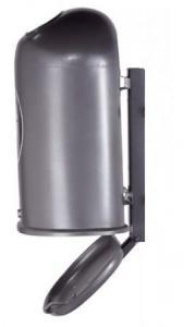 Vorschau: Abfallbehälter zur Wand- oder Pfostenbefestigung
