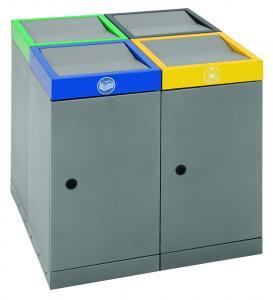 Vorschau: Wertstoffsammler ProWaste Quadro 30/70 Liter