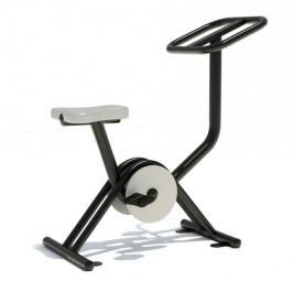 Outdoor Fitnessgerät Plus Fahrrad