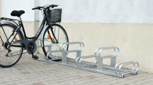 Vorschau: Fahrradständer Höhenversetzt