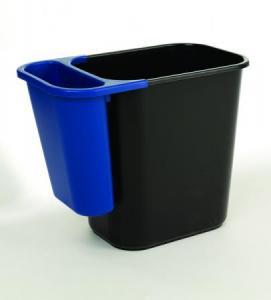Vorschau: Zusatzbehälter für rechteckige Papierkörbe