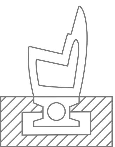 Parkbank-Keto-ohne-R-ckenlehne-Bodenanker-installation