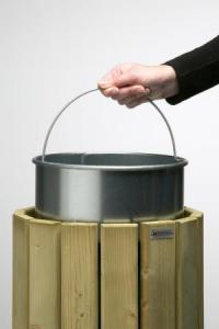 Vorschau: Verzinkter Inneneimer 20 Liter