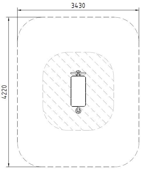 Sicherheitsbereich-Bauchtrainer-Pro-Inox
