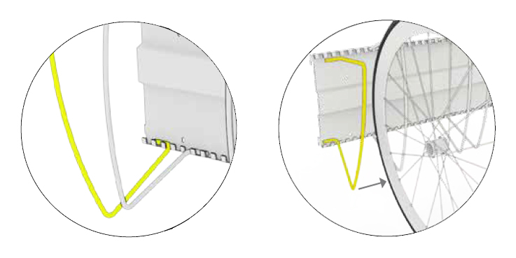 Biohort-StoreMax-Fahrradstaender-montage
