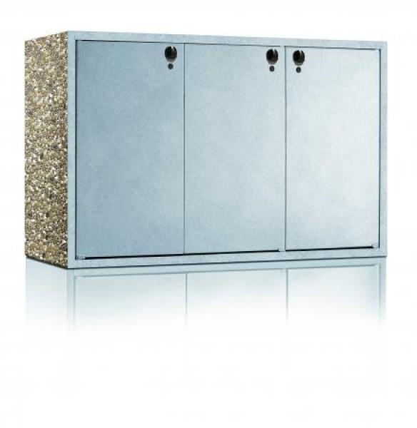 m llbeh lterschrank classic 3 fach 120. Black Bedroom Furniture Sets. Home Design Ideas