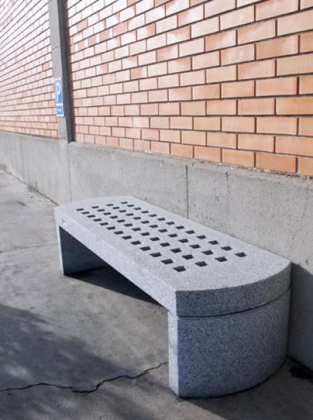 beton parkbank trau. Black Bedroom Furniture Sets. Home Design Ideas