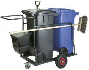 Vorschau: Reinigungswagen 2x 120