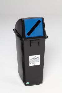 Vorschau: Kunststoff - Wertstoffsammler 58 ltr.