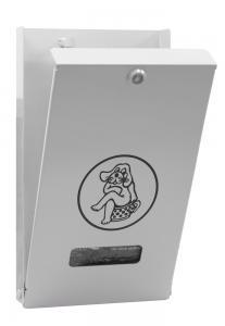 Vorschau: Beutelspender in Weißaluminium