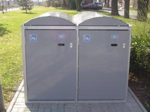Vorschau: Fahrradgarage mit Bogendach