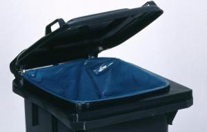 Vorschau: Haltering für Kunststoff-Mülltonnen